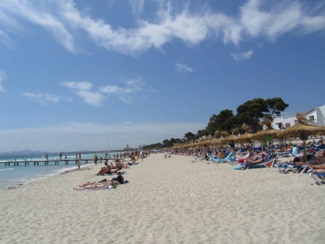 Mallorca Alcudia Hotel Am Strand