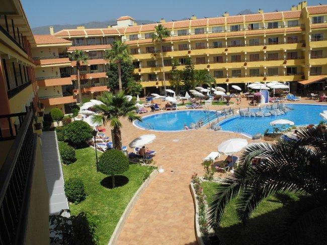 Bersicht der poollandschaft hotelbild aparthotel hovima for Aparthotel jardin caleta