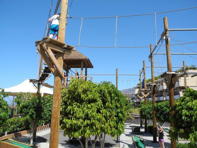 Hochseilgarten hotelbild hotel be live family costa los gigantes - Hotel be live family costa los gigantes puerto de santiago ...