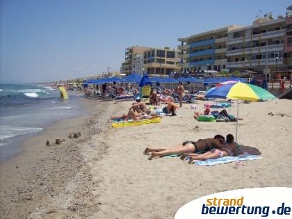 Rethymnon Beach - Ortsstrand