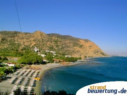 Strand von Aghia Galini