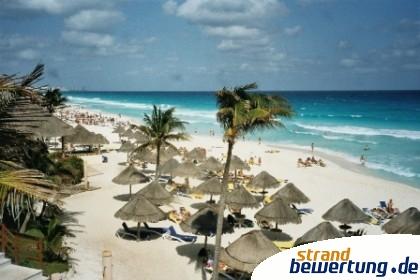 Hotelzone von Cancun